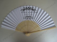 cheap wedding foldable fans per