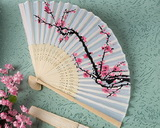 Beautiful flower wedding fan