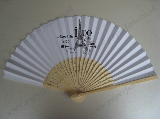 custom wedding fans wedding ceremony decorations