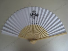 customized wedding fans persona