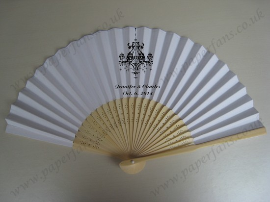 customized wedding fans personalized fans