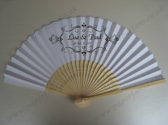 collapsible fans personalized wedding favors fans
