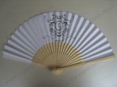 High quality wedding paper favors fans