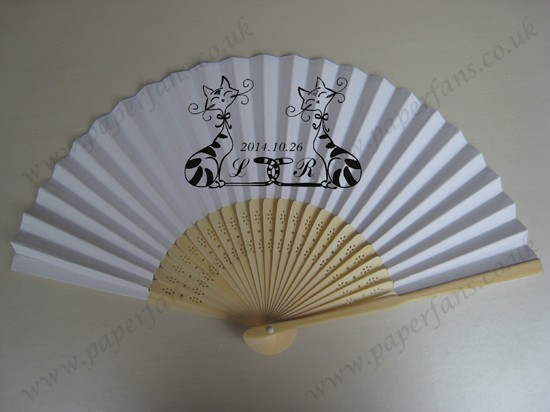 personalized bamboo fans hand fan for wedding