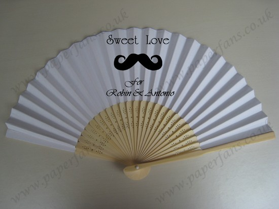 folding paper hand fans customized