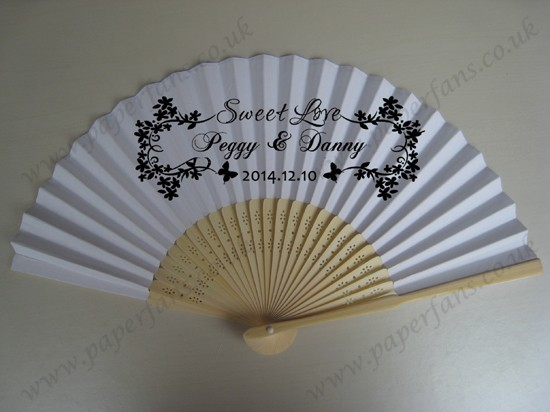 personalized wedding fans for different party and event