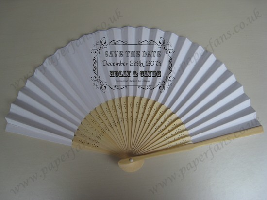 cheap wedding fans personalized fabric folding fans