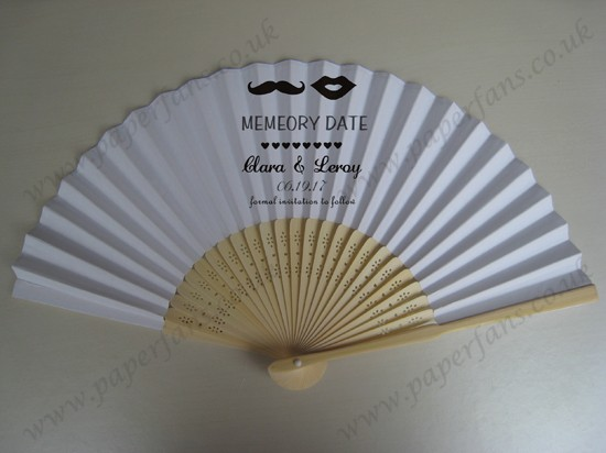 personalized cheap folding fans of wedding