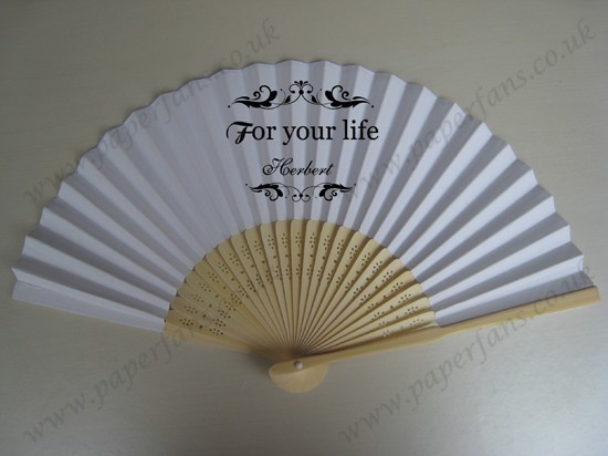 hot wedding favors hand fans personalized