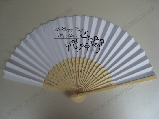 personalized hand fans wedding favor hot sale