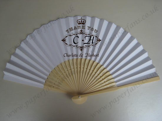 paper wedding souvenir fans wholesale