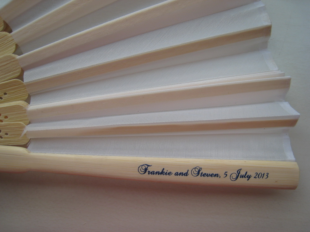 Promotional Paper Fan 06 Free Shipping Cheap Customized Wedding
